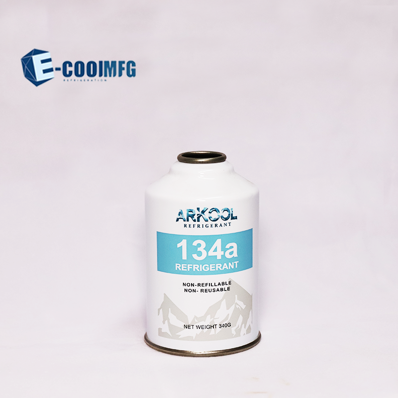 refrigerant gas r134a air conditioning brand ECOOL MFG