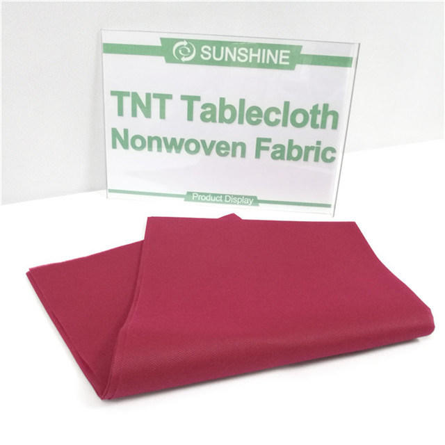 Spunbond Nonwoven Wholesale Fabric Rolls Table Cloth