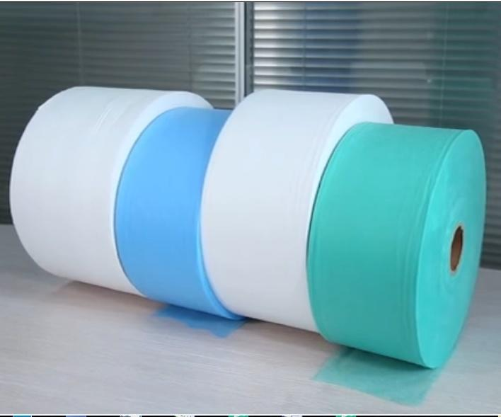 Factory Supply S/Ss/SSS/SMS 100% Polypropylene Non Woven Fabric Rolls TNT