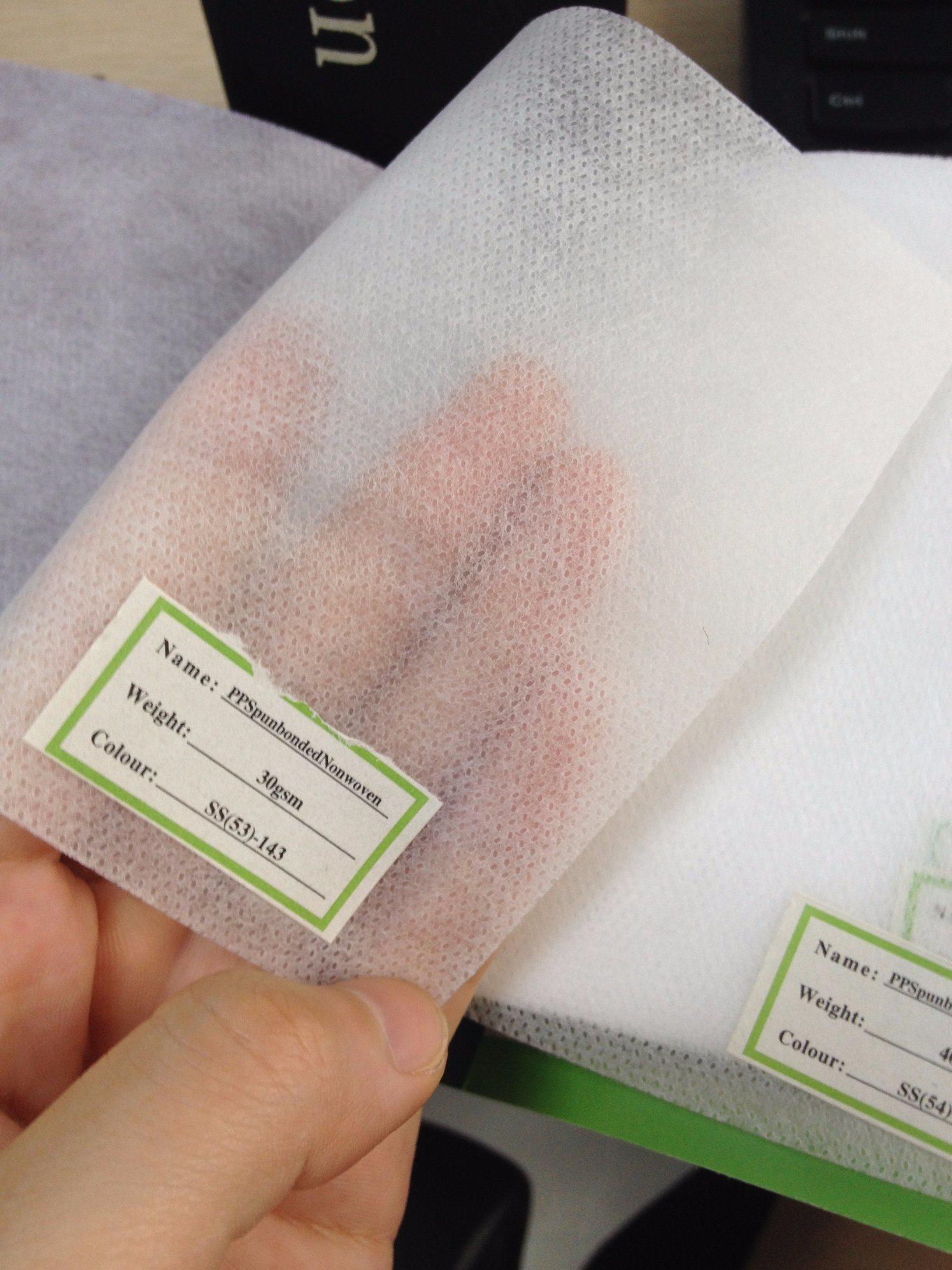 100% Polypropylene Spun-Bonded Fabric Material