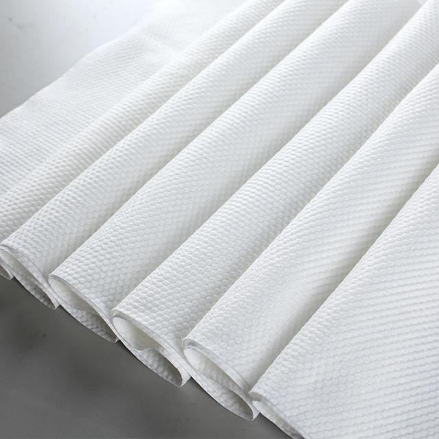 Spunlace Nonwoven Fabric Plaine/Mesh/Junior Pearl Type