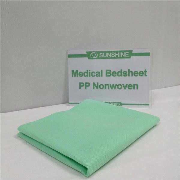 100%Polypropylene Bed Sheet Medical Nonwoven Fabric