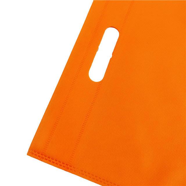 Colorful Best Price of PP Spunbond Nonwoven Shopping D-Cut Bag