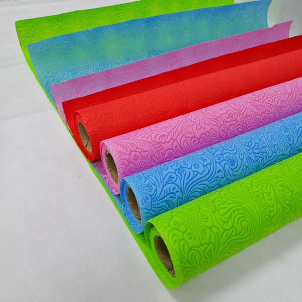 Embossed Non Woven Fabric Manufacturing Company with SGS