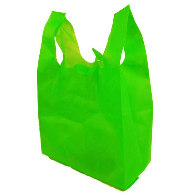 Cheap China Factory PP Spunbond Shopping T-Shirt Bag U-Cut Bag