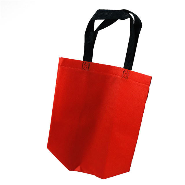 Colorful Polypropylene Nonwoven Fabric Shopping Bag