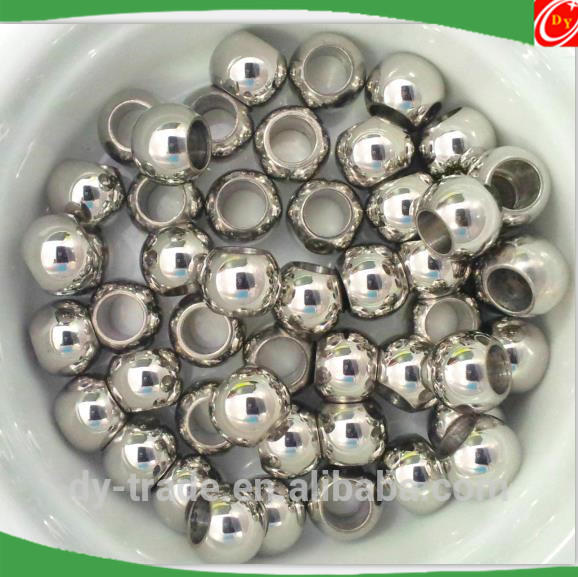 Small mirror solid stainless steel ball/ gazing steel sphere
