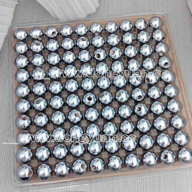 25mm Metal Steel Balls with Four Thread Holes