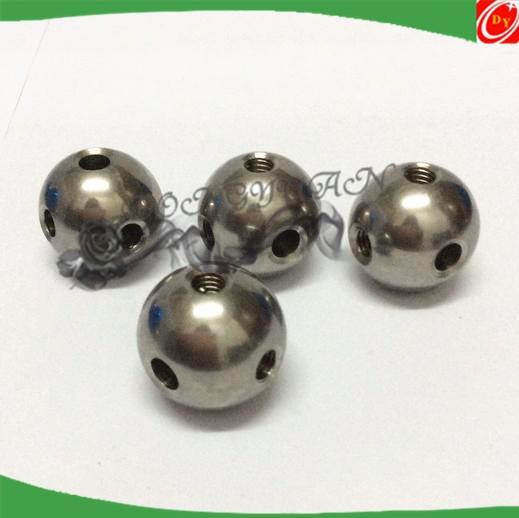 metal steel full ball with holes