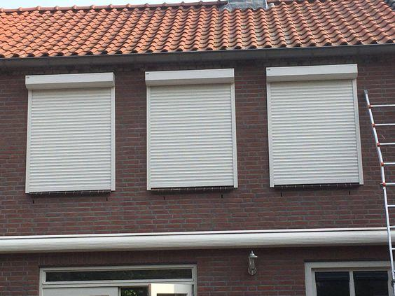 1200mm*1200mm 45mm Slat Horizontal Steel Window Interior Aluminum Roller Shutter Window