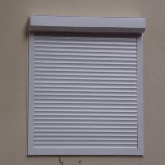 1000x1400 45mm Slat Remote Control Electric Aluminum Shutter Window
