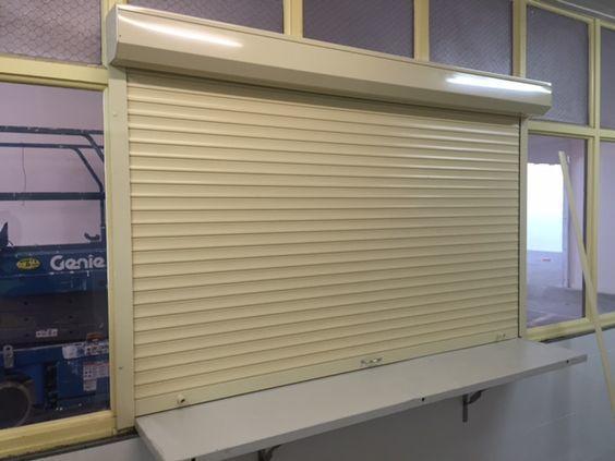 1200mm*1200mm 45mm Slat Aluminum Roller Shutters For Window