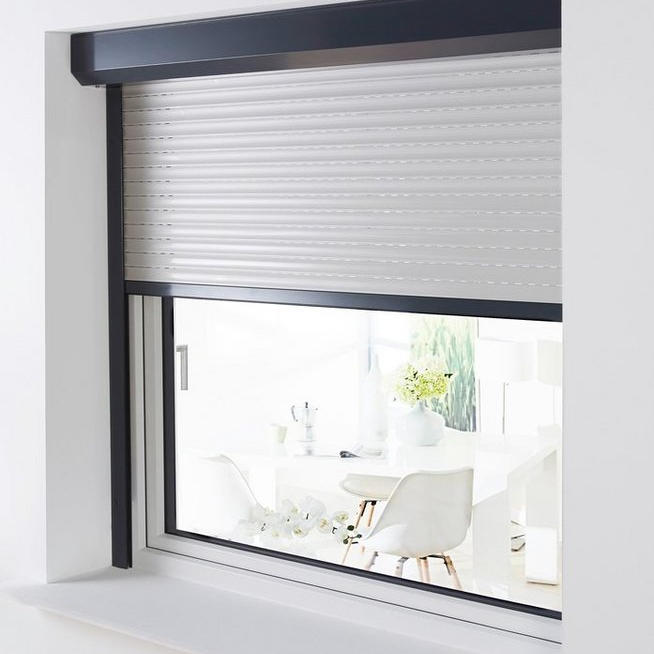 1000x1200 Aluminum Retractable Double Layer Exterior Windows Awnings