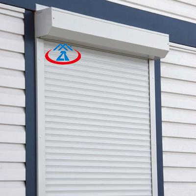 1400mm*1200mm 45mm Slat Modern Thermal Insulation Aluminum Awning Window