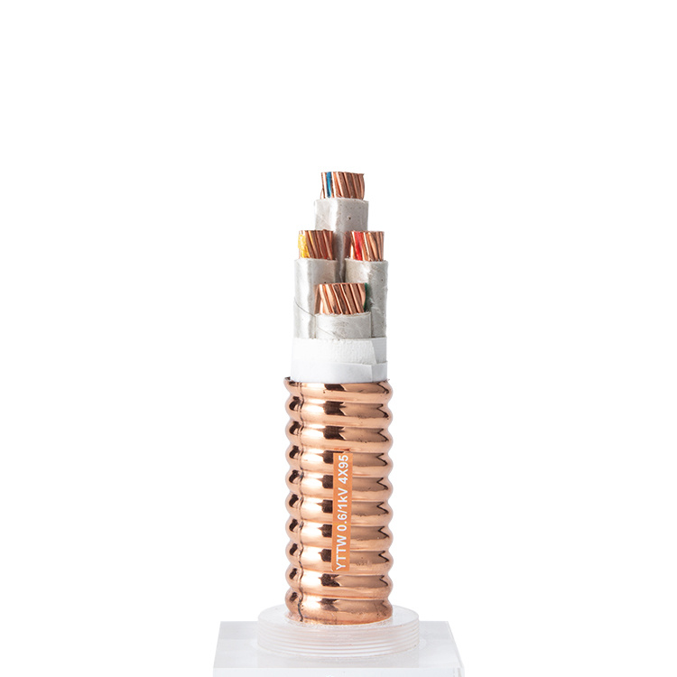 MI 4 Core 70mm 95mm 120mm Fire-resistant Mineral Insulated Heating Cable