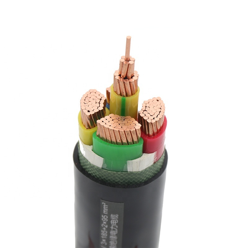 china cable supplier 1.1kv 3kv 3.5 core 95mm xlpe power cable price