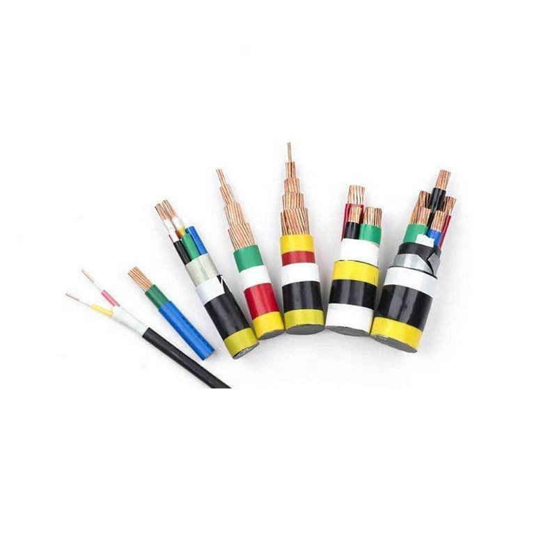 LV Power cable 35mm2 50mm 70mm2 95mm copper XLPE insulated PVC sheathed electrical cable wire YJV copper cable