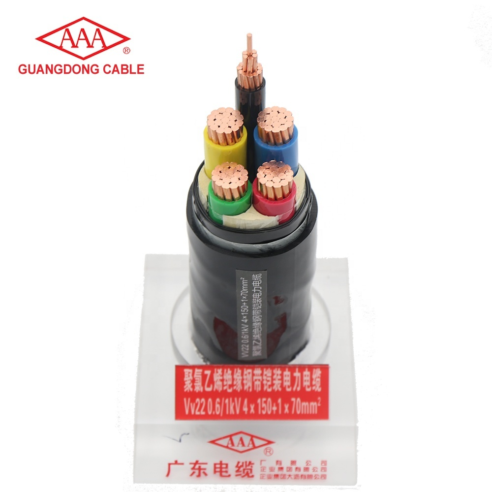 Good Quality Direct Factory Price 3 phase power cable from Guangdong Cable Factory