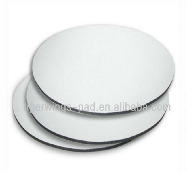 REACH RoHS CE certificate factory natural rubber rolls material blank mouse pad