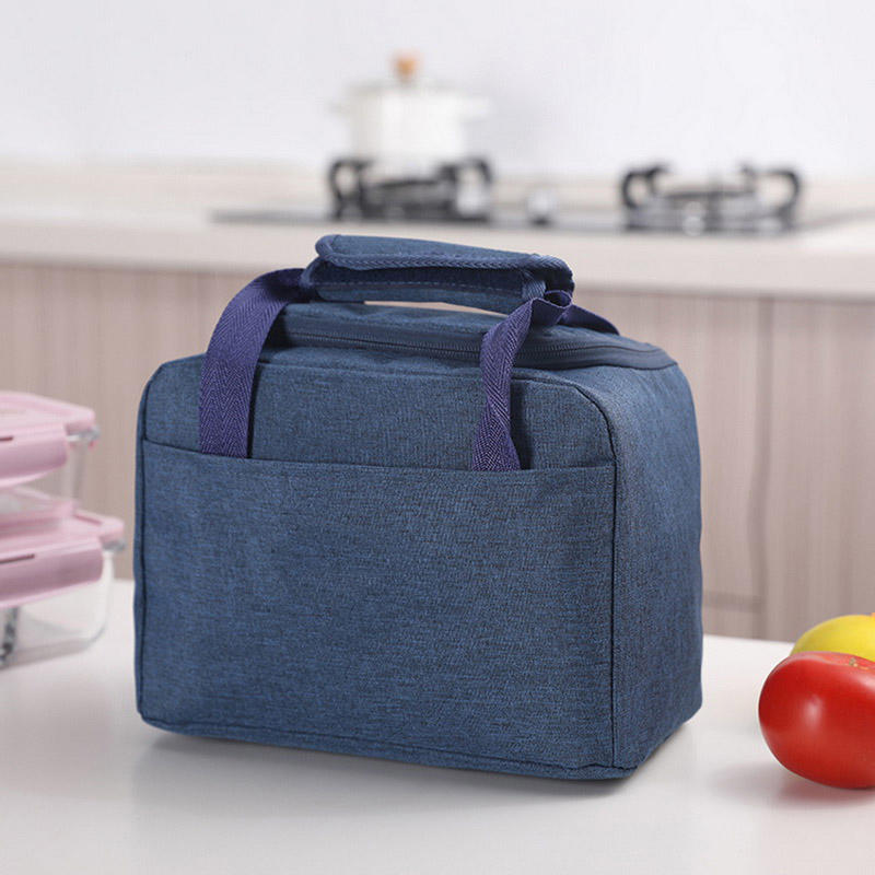 2020 Portable New Thermal Insulated Lunch Box Tote Cooler Handbag Bento Pouch Dinner Container School Food Storage Bags