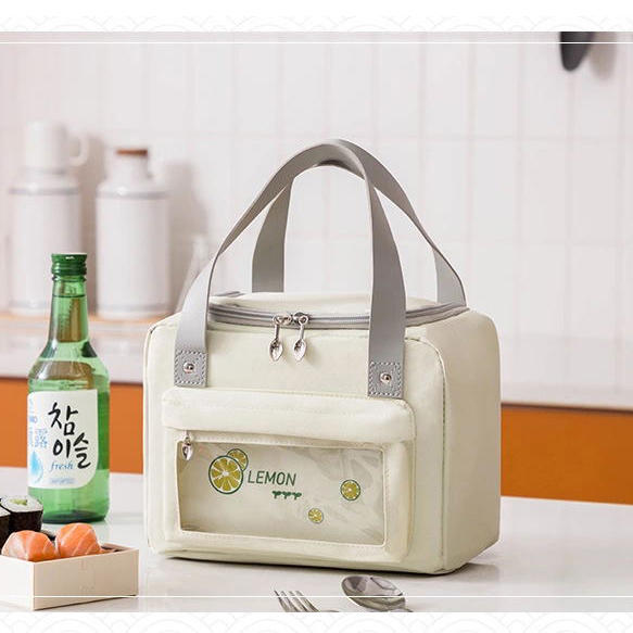 Unisex Lunch Bag Insulated Lunch Box Large Drinks Cooler Holder Durable Nylon Thermal Snacks Organizer for Adults Work Picnic