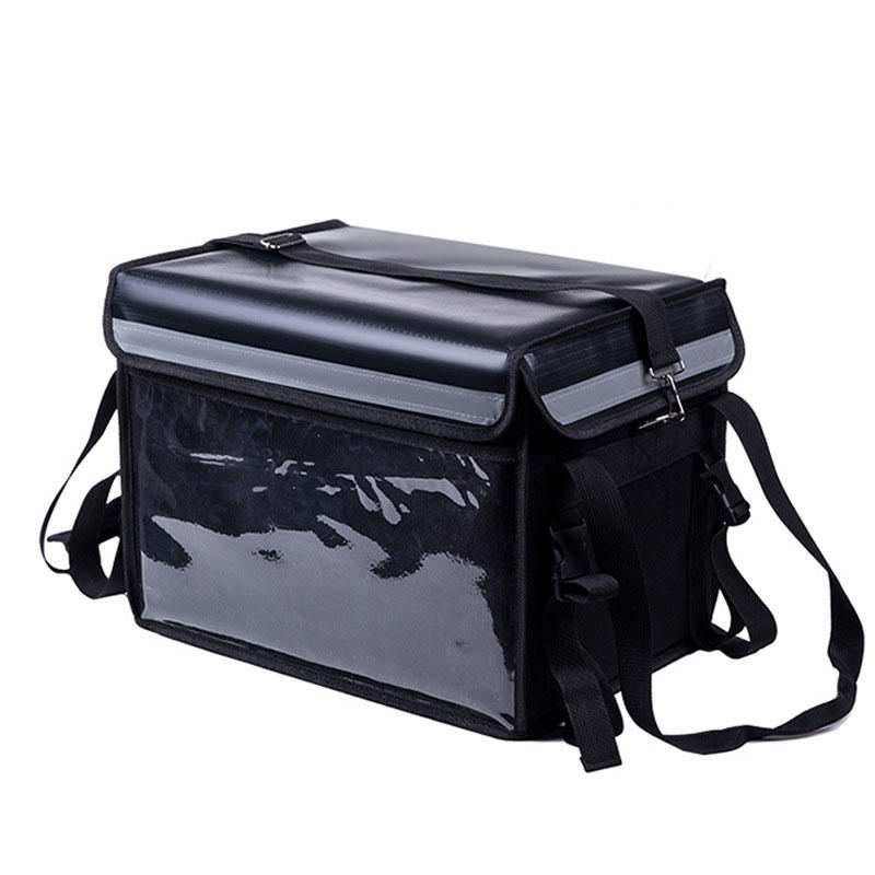 48L Extra Large Cooler Bag Car Ice Pack Insulated Thermal Lunch Pizza Bag Fresh Food Delivery Container Refrigerator Bag