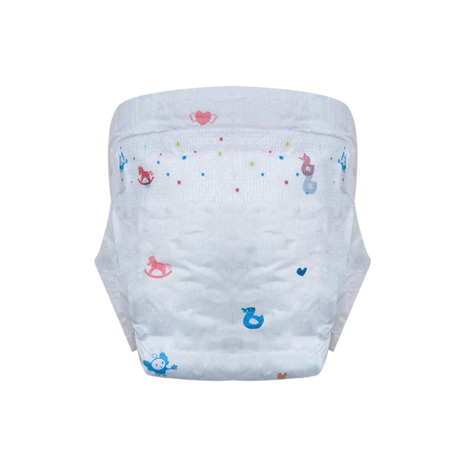 Free sample soft care baby diaper pants customized colorful new nappies