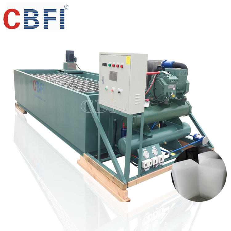 Container Ice Block Making machine for Easy Operation