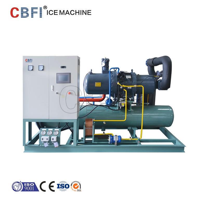 good Germany Bitzer compressor 20 tons ice maker Ice block making machine