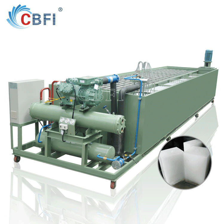 100 Tons Large Block Ice Making Plant Overseas