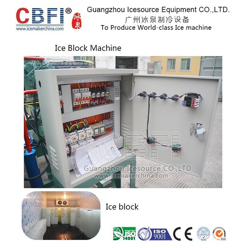 Block ice machine in China for Malaysia, Philippines, Nigeria, Suadi Arabia