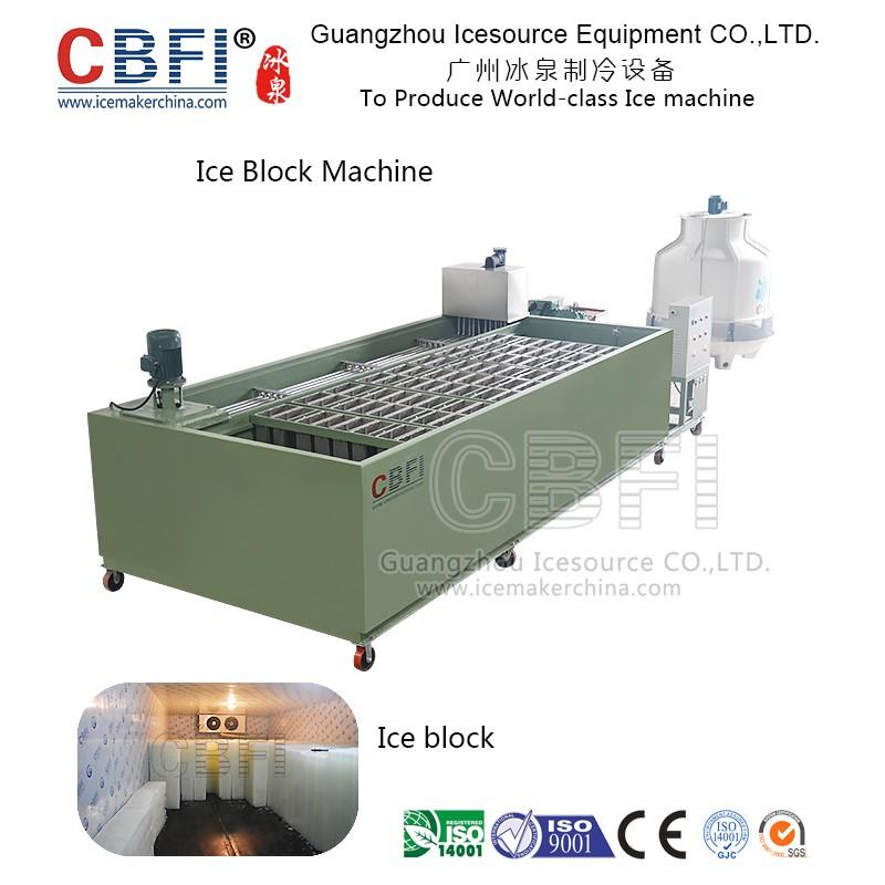 Block ice machine in China for Malaysia, Philippines, Nigeria, Suadi Arabia