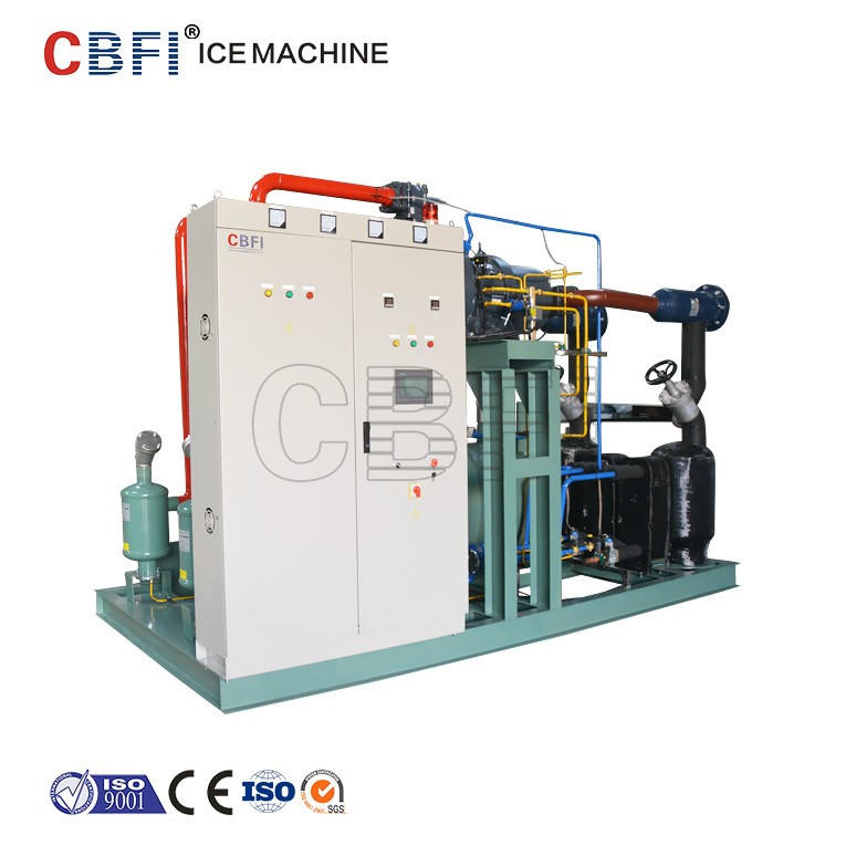 Guangzhou ice factory used in Libya block ice machine with 1000pieces block ice per day