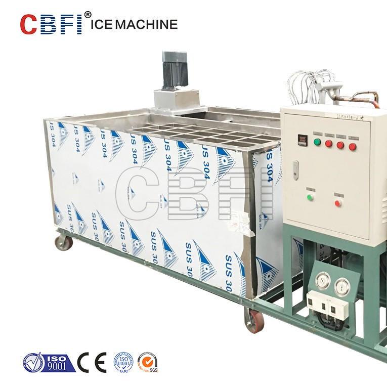 5 ton per day Stainless steel brine water tank Block Ice Machine from CBFI