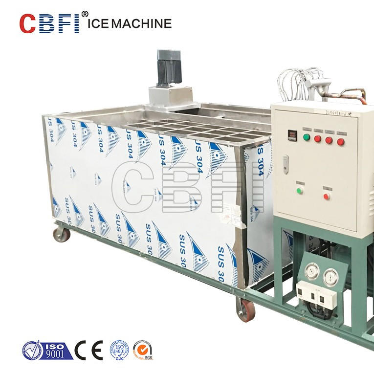 5 ton per day Stainless steel brine water tank Block Ice Machine from CBFI