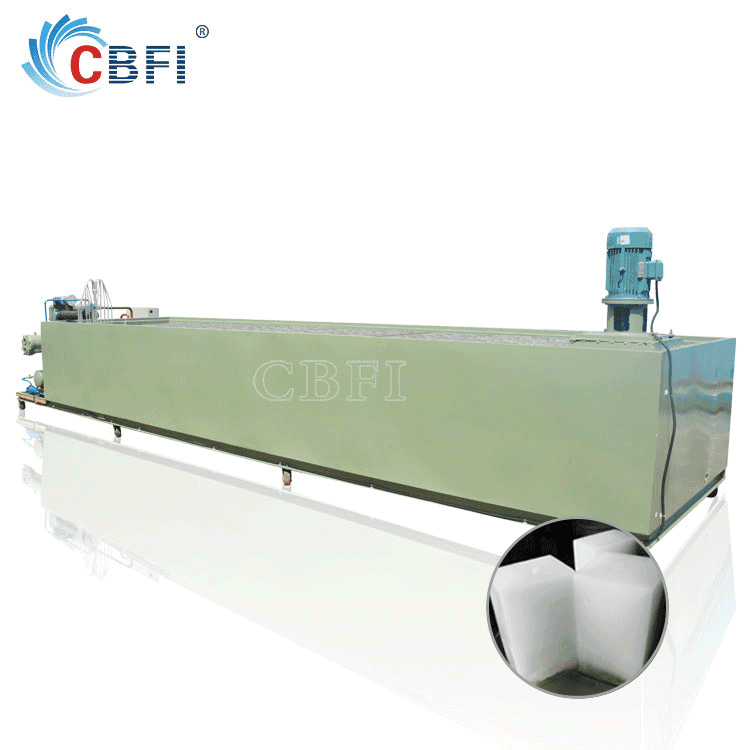 Containerized ice block making machine mobile ice plant