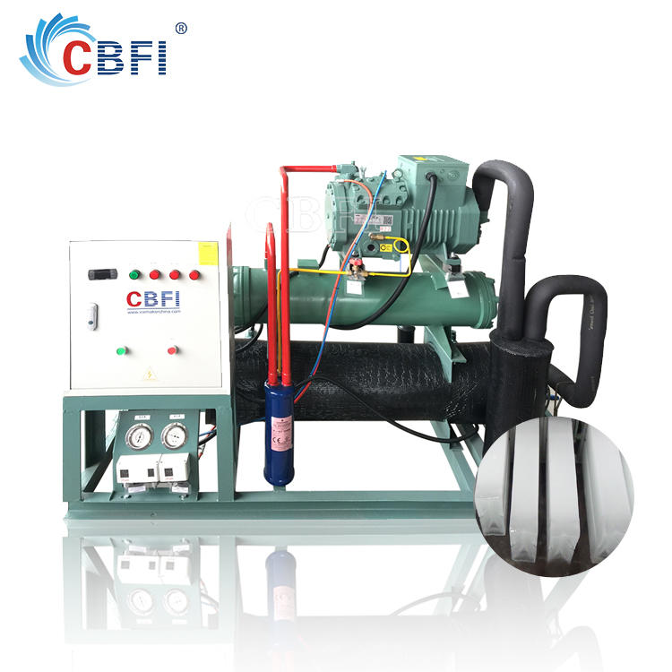 Commercial ice block machine for icee maker