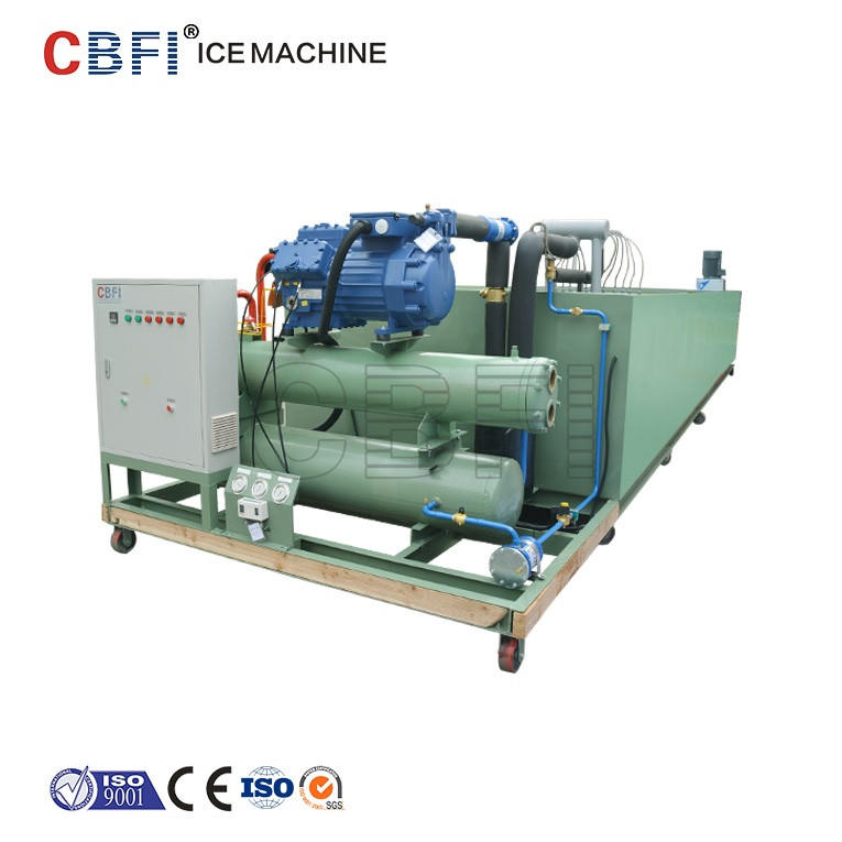 Coil Pipe Evaporator ice block making machine ice maker
