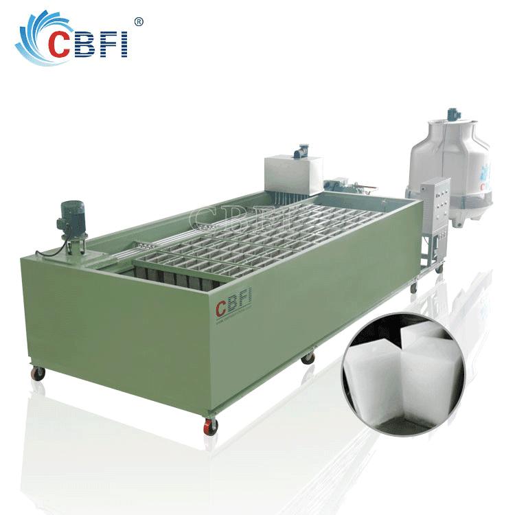 cbfi coil tube evaporator block ice plant ice block making machine price with long services life