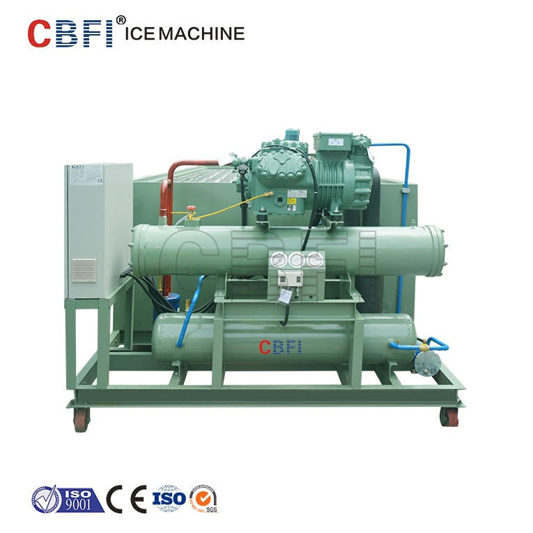 100tons industrial freon block ice machine,block ice making machine ice maker