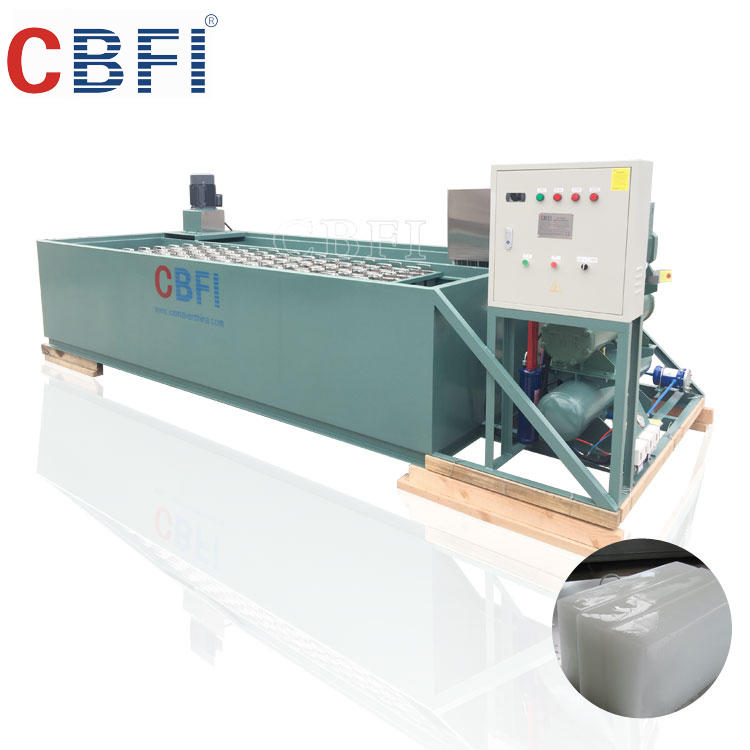Ice plant factory design commercial block ice making machine for sale