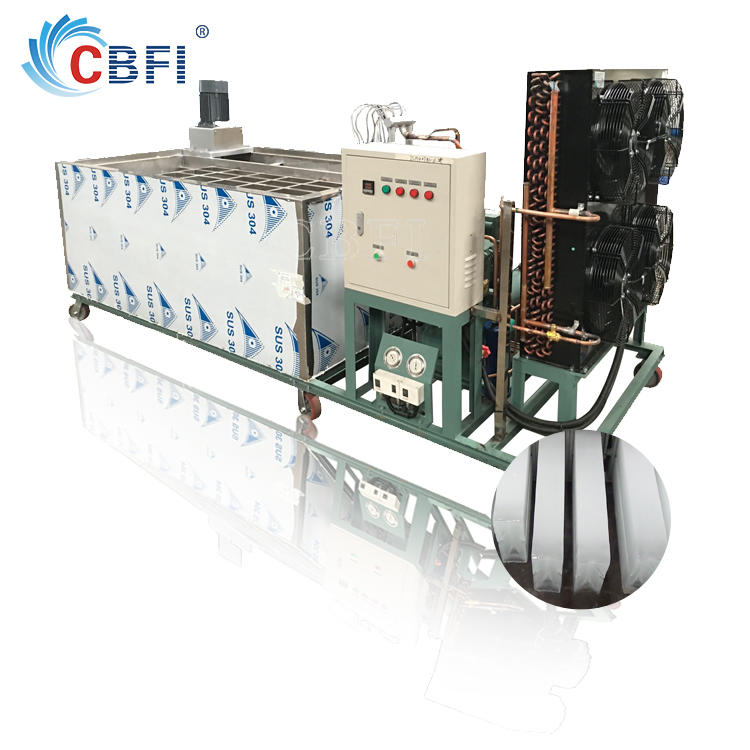 Coil pipe evaporator Industrial Ice Block Making Machine