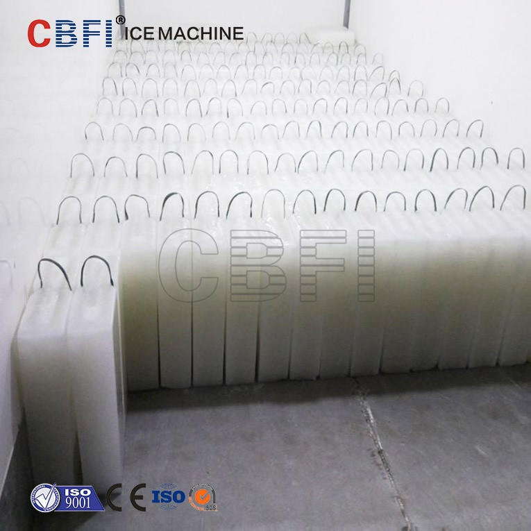 Coil pipe evaporator Industrial Ice Block Making Machine