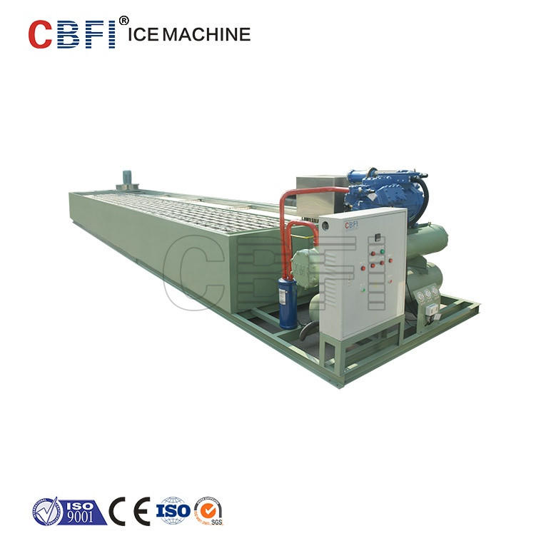 Containerized in 40 ft size Ice block machine ice maker