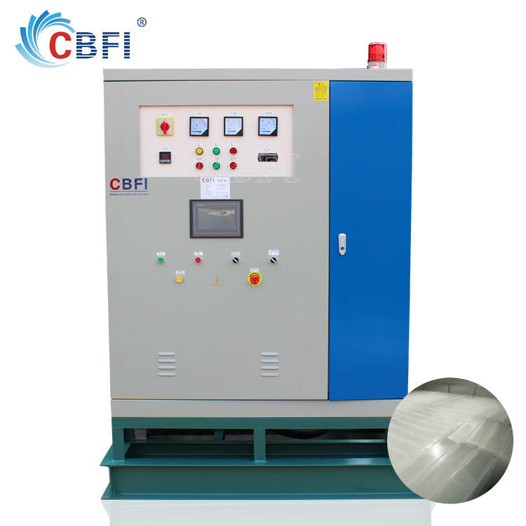 Integrity Design Direct Cooling Ice Block Machine Plant
