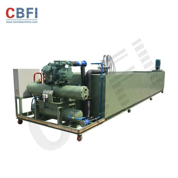 1 Ton Small Space Large commercial ice block making machine