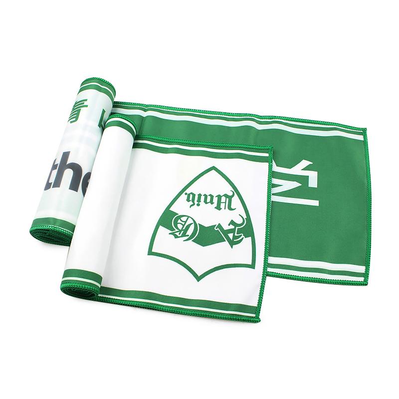 Custom Printed Sports Microfibre Towel Travel Logo Face Microfiber Sport Towels