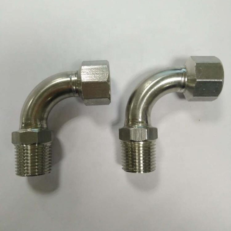 stainless steel elbow 90 degree with male female thread pipe fitting
