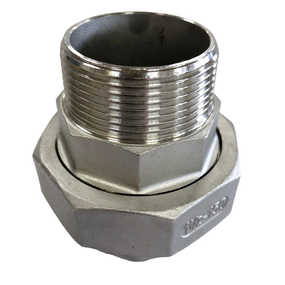 china hot sales wholesales stainless steel male/female threaded adaptor fitting304/316L