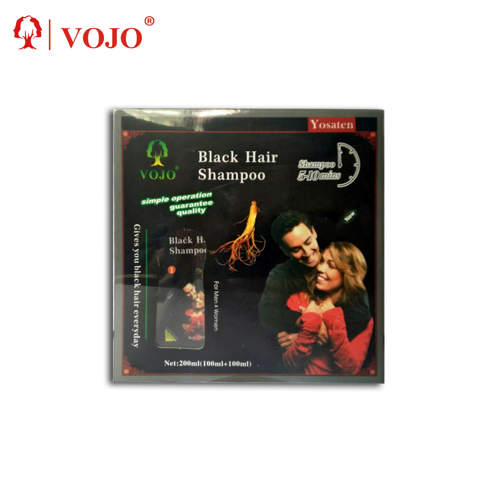 Hair Color Natural Instant black hair dyeshampoo high quality private brand lable with factory cheapest price product